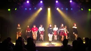 20180303 JELLY JELLY(젤리젤리)/TWICE(트와이스) LUPIN SHOWCASE vol.3 dance cover 大阪大学