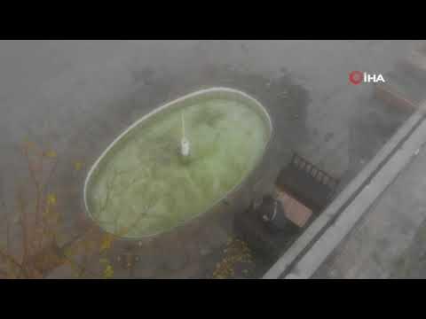 Tarihi kent sise teslim oldu, uçak seferlerinde aksamalar yaşandı