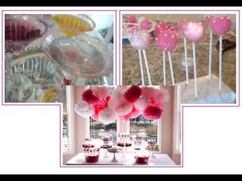 Pinterest Ideas DIY Bridal Shower / Baby Shower Party Ideas