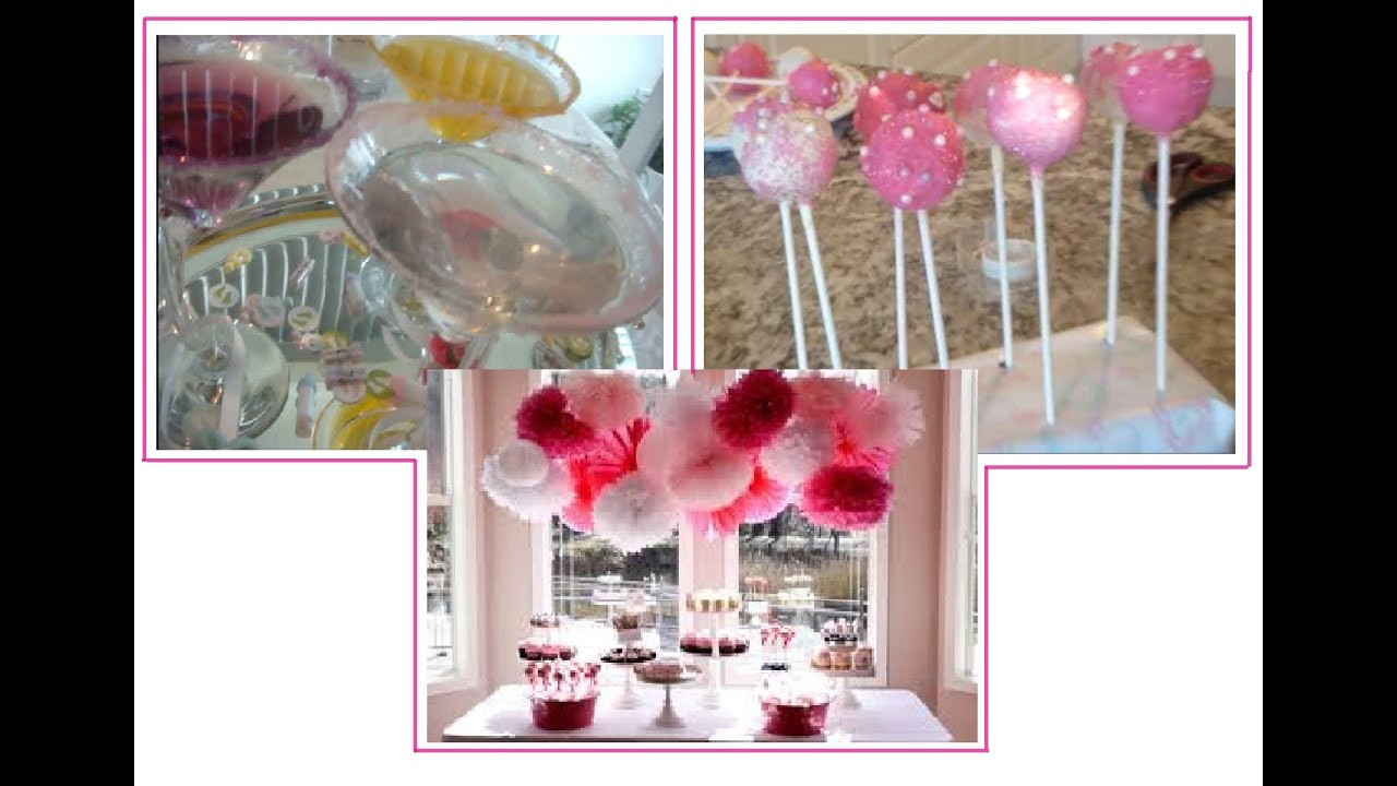 Pinterest ideas diy bridal shower baby shower party ideas youtube junglespirit Gallery