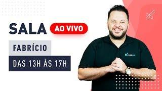 SALA AO VIVO - FABRICIO STAGLIANO no modalmais 22.03.2019