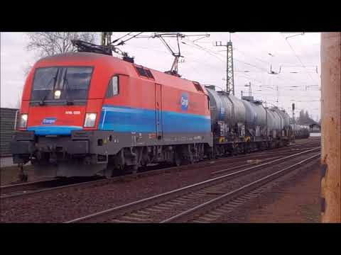 Trainspotting in Vecsés, Hungary over 10 hours - Part 1