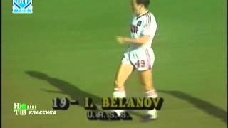 ЧМ по футболу 1986г. 1/8 финала   СССР - Бельгия   2-й тайм