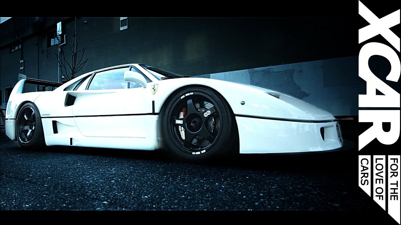 Custom Ferrari F40 Liberty Walk Xcar Youtube