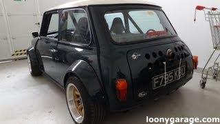Mini with Honda Turbo Bike Engine