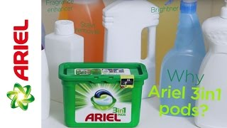 Ariel 3in1 PODS? See why they're all you'll need! – Ariel