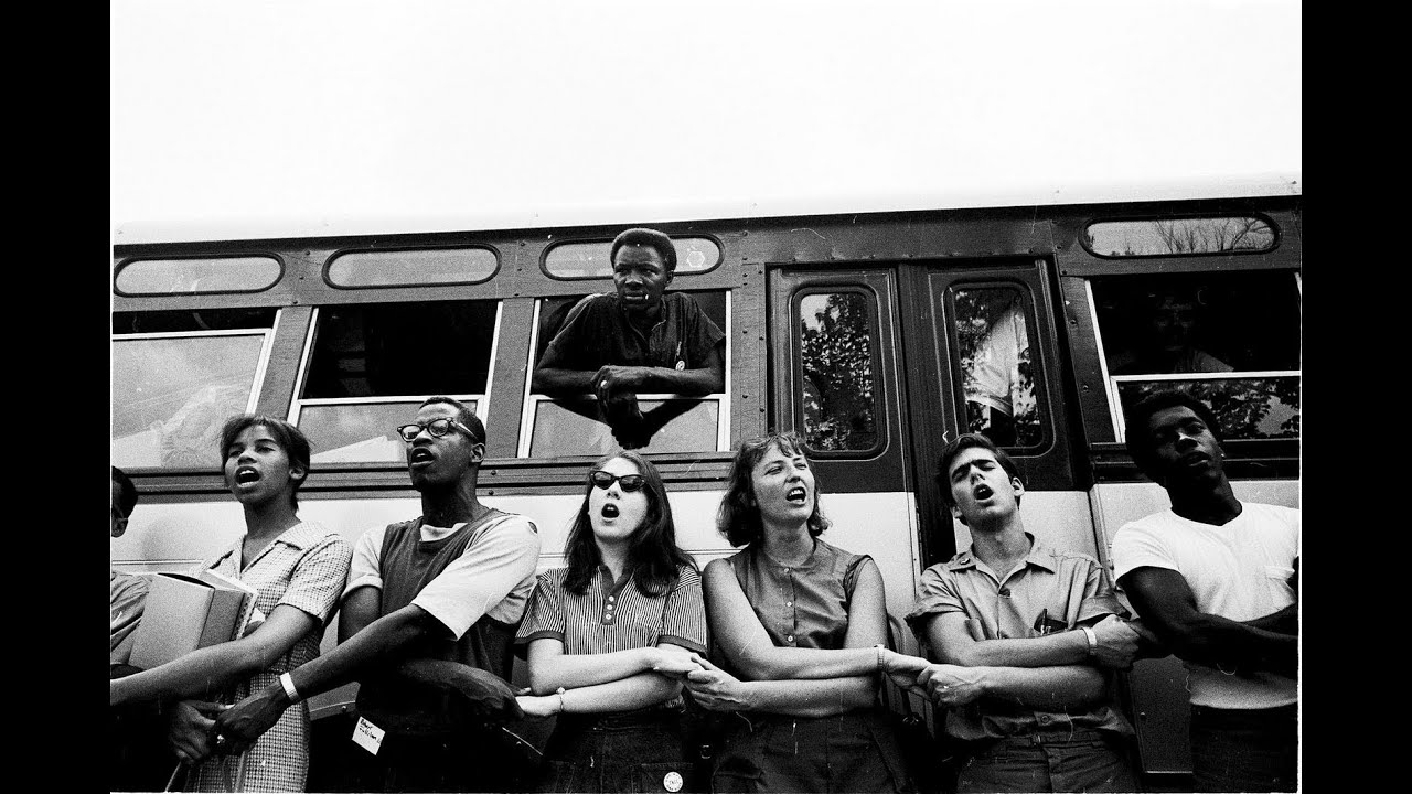 the freedom riders a group a people who took a bus to the south to stop segregation The black panther party was a radical political civil rights group that rejected the non-violent methods of martin luther king and the freedom riders, believing that if they were being persecuted, they had the right to use violence in self defense.