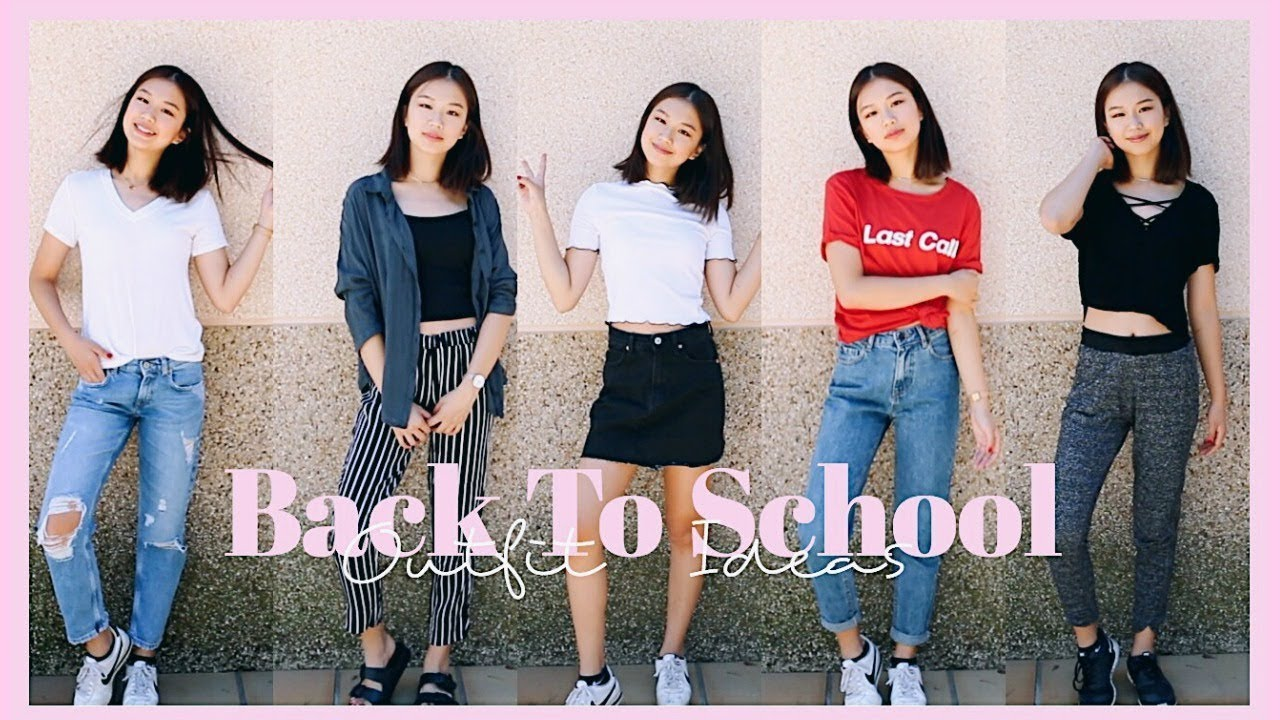 [VIDEO] - BACK TO SCHOOL OUTFIT IDEAS 2017-18 8
