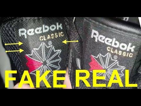 d40766d6623 Real vs. Fake Reebok Classic sneakers. How to spot fake Reebok sneakers