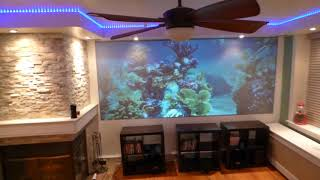 SEE WHY YOU CAN REPLACE YOUR TV FOR A PROJECTOR WITH OUR  ECLIPSE NANO PROJECTION SCREEN PAINTS