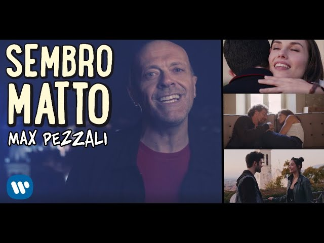 Max Pezzali - Sembro matto (Official Video)