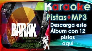 Barak generación sedienta _ ( Música Cristiana ) ( Descarga este álbum Pistas MP3 )