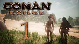 Conan Exiles - прохождение игры на русском - Новая жизнь [#1] | PC