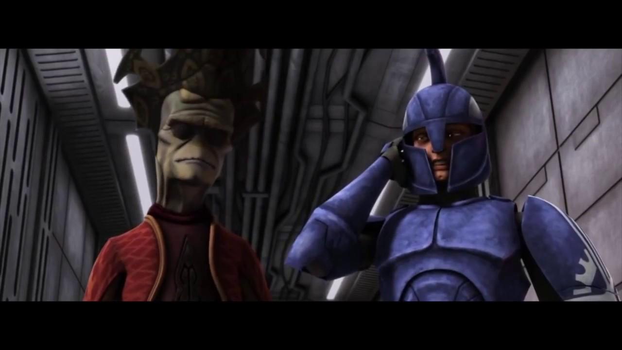 Star Wars The Clone Wars Clone Commander Gree Vs Captain Argyus