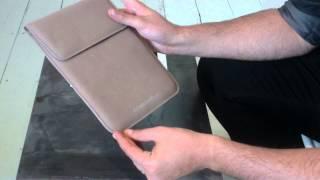 Présentation vidéo de la housse de luxe Lucrin pour iPad