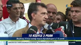 % 100 Futbol Kardemir Karabükspor - Beşiktaş 9 Eylül 2017