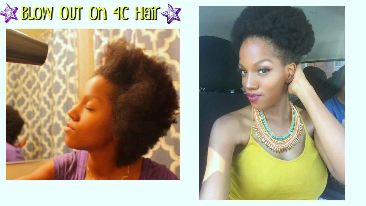 Blowout On Short Natural Hair 4c Hair Faithsocial