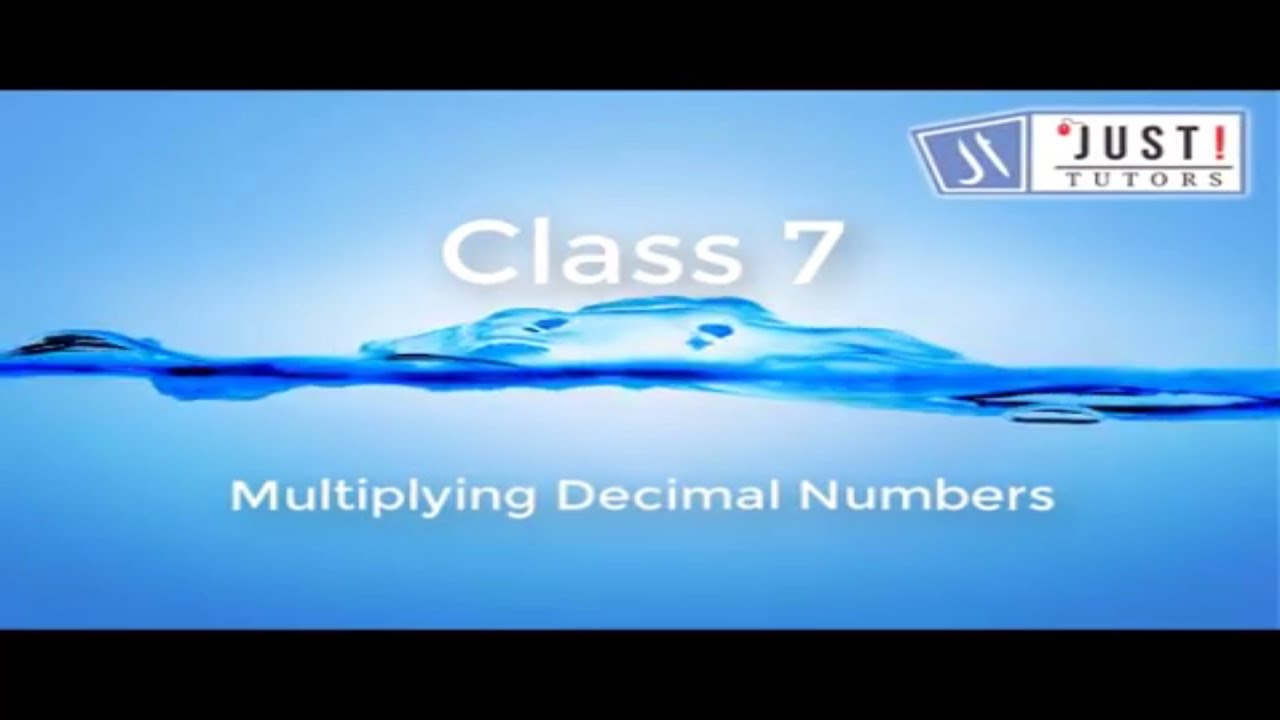 Multiplying decimal numbers by 10 100 and 1000 - YouTube