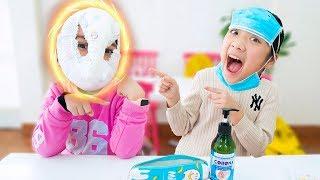 Trang Oz Làm Khẩu Trang ❤ Phòng Tránh Virus Corona - Trang Vlog