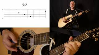 "How To Play ""The Long and Winding Road"" on Acoustic Guitar"