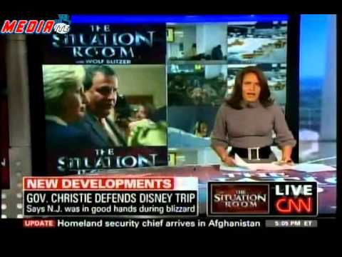 Chris Christie   Snow   Disney World   Mediaite