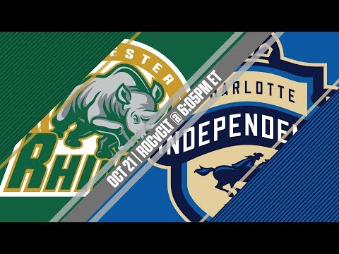 2017 #USLPLAYOFFS - Rochester Rhinos vs Charlotte Independence 10/21/17