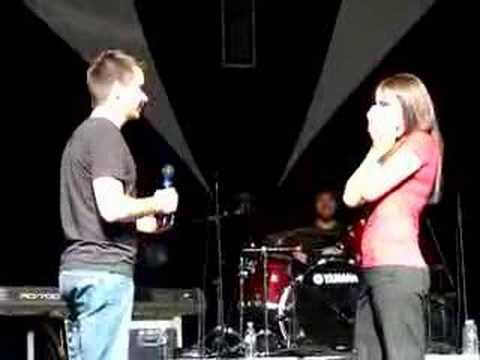 Michael English concert proposal 4/20/08