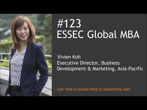 ESSEC Global MBA Admissions Interview with Vivien Koh