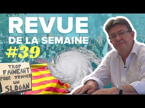 #RDLS39 : IRMA, CATALOGNE, 12 & 23 SEPTEMBRE, LOI TRAVAIL, LA RÉUNION