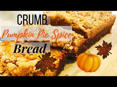 ABSOLUTE BEST Crumb Pumpkin Pie Spice Bread Recipe | ThymeWithApril