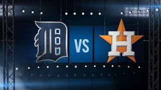 4/17/16: Altuve's three RBIs lead Astros over Tigers