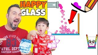 GİZEMLİ BUZLAR BARDAKLARA DOLUYOR! YİNE THUG LIFE YAPTI! | EGEMEN KAAN İLE HAPPY GLASS OYNUYORUZ