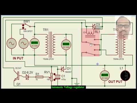 Voltage Stabiliser /Stabilizer