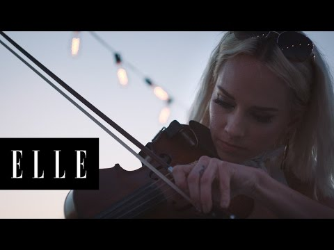 How It-Girl Violinist @CallMeMargot Would Spend Her Perfect Saturday   ELLE + Armani