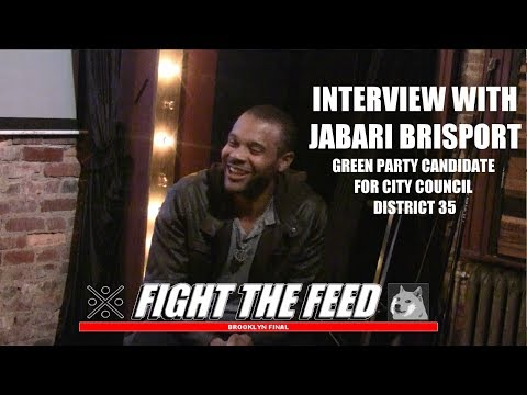 Inteview with Jabari Brisport, Candidate for City Council District 35