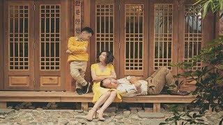 Thu Trang du hí Hàn Quốc cùng gia đình