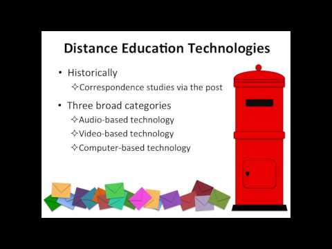 Technology and Distance Education