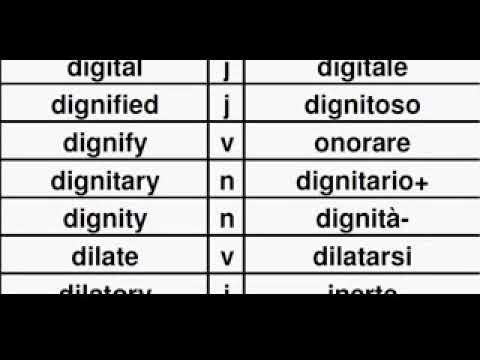 TEI02DD English Italian Dictionary, Dizionario Inglese Italiano