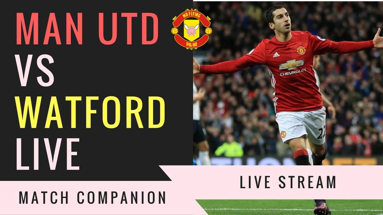 Image result for Manchester United vs Watford Live Stream