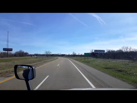 Bigrigtravels Live! - Angola, Indiana to Coldwater, Michigan - Interstate 69 - April 7, 2017