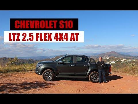 Download Youtube: Testamos a Chevrolet S10 LTZ 2.5 Flex 4x4 AT, por Emilio Camanzi