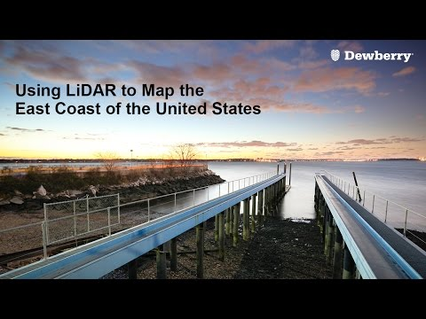 Using LiDAR to Map the East Coast of the United States