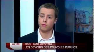 Louis de Gouyon Matignon face à deux sénateurs