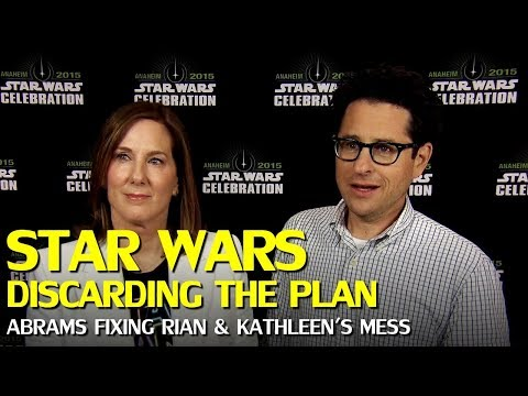 Star Wars: Kathleen Kennedy and Rian Johnson Discarded J.J. Abram's Trilogy Plan Mp3