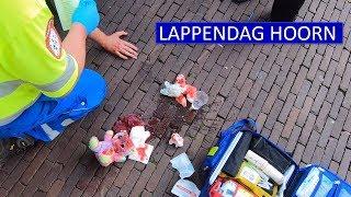 Politie Hoorn  Dienst tijdens Lappendag 2019  Toezicht, mishandeling & overlast