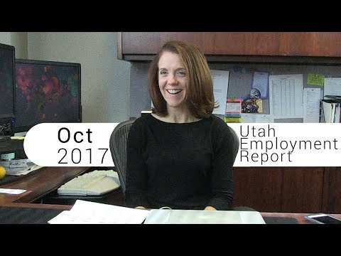 Utah Employment Report October 2017