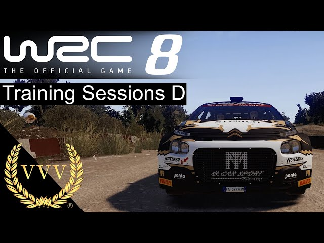 WRC 8 Training Sessions D