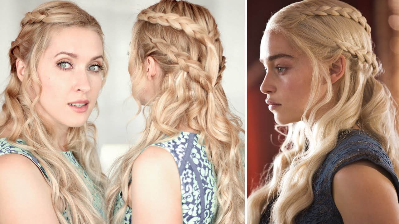 Game Of Thrones Hair Tutorial Khaleesidaenerys Braid Hairstyle