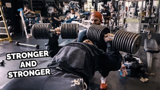 RAW CHEST WORKOUT | 200LBS DUMBBELLS VS IAIN VALLIERE