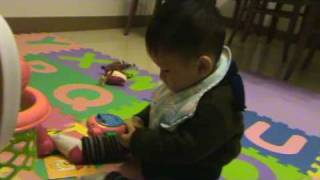 20090111丸子玩手機